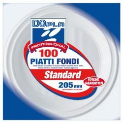 100 PIATTI FONDI Ø 205mm...