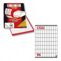 Etichetta adesiva C/532...