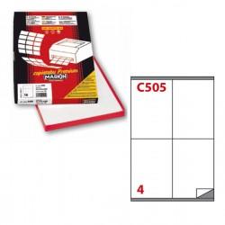 Etichetta adesiva C/505...