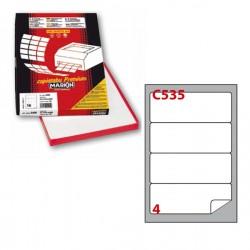 Etichetta adesiva C/535...