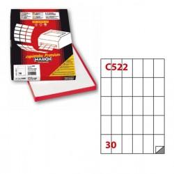Etichetta adesiva C/522...