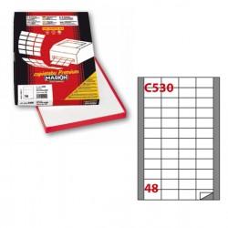 Etichetta adesiva C/530...