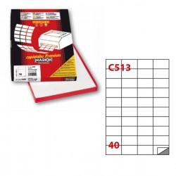 Etichetta adesiva C/513...