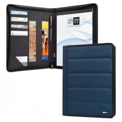 Portablocco Spinner A4 blu...