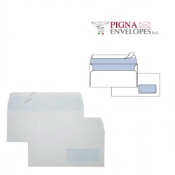 25 BUSTE BIANCHE 110X230MM...