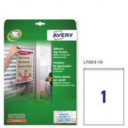 Conf. 10 Tasche adesive...