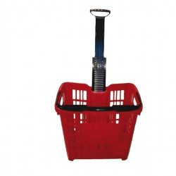Cesto trolley antiurto 30Lt...