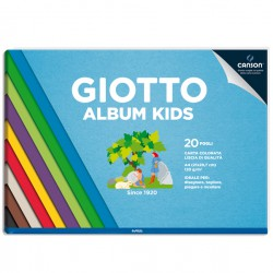 Album Kids Carta colorata...