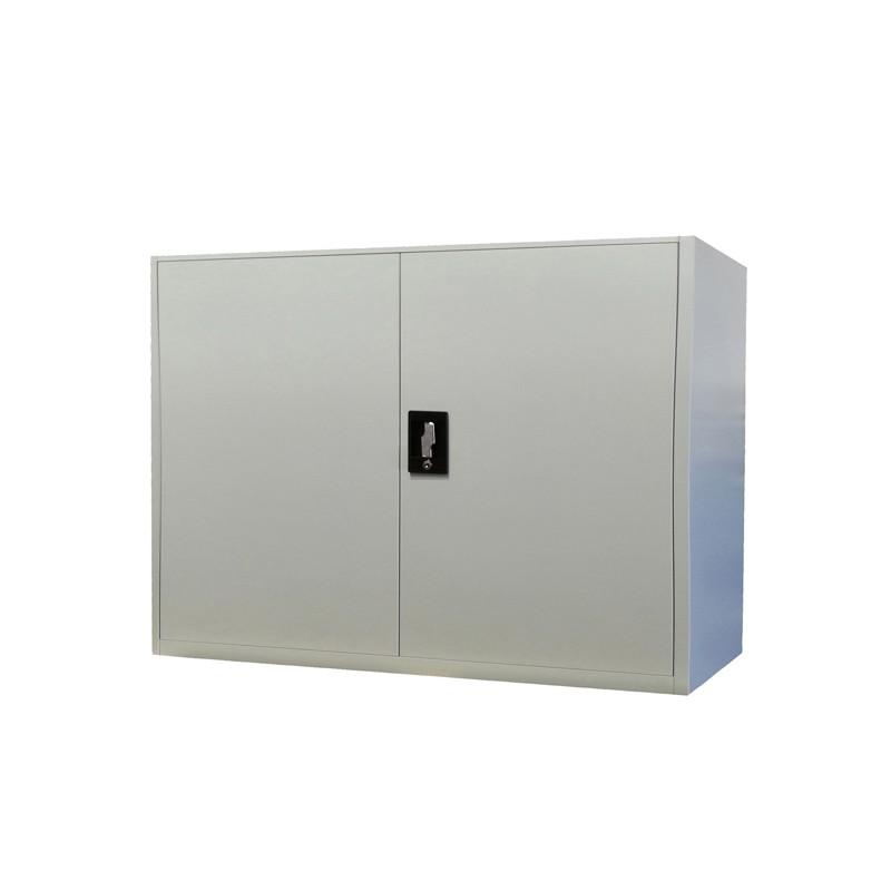 Armadio basso in metallo ad ante battenti 100x45xh100cm for Armadio basso ufficio