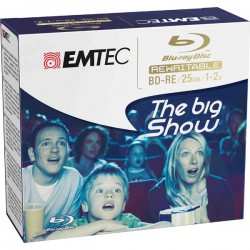 BD-RE EMTEC 25GB 1-2x JEWEL...