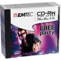 CD-RW EMTEC RW 80MIN/700MB...