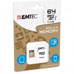 MICRO SDXC EMTEC 64GB CLASS...