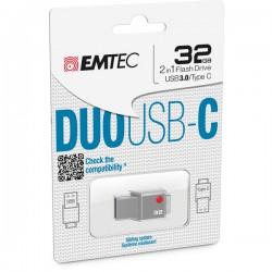USB EMTEC 3.0 DUO USB-C...
