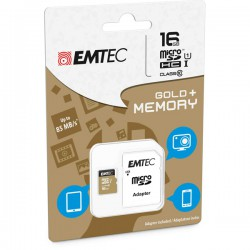 MICRO SDHC EMTEC 16GB CLASS...