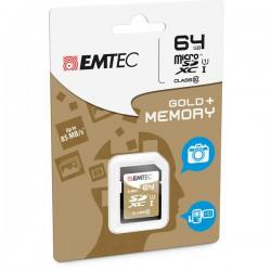 SDXC EMTEC 64GB CLASS 10...