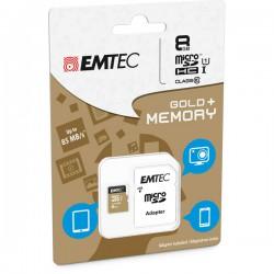 MICRO SDHC EMTEC 8GB CLASS...