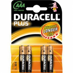 BL 4 PILE DURACELL AAA...