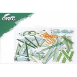RIGA PLASTICA 70 CM  28970C