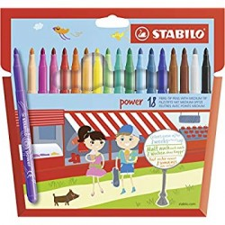 STABILO POWER MAXI 12 COLORI