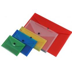 BUSTE PLASTICA C/BOTT. A4 6502