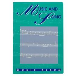 ALBUM MAXI MUSICA 21x31CM 16FF