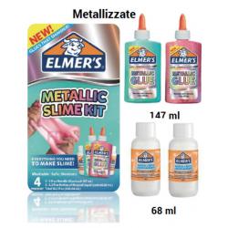 ELMER'S SLIME KIT METALLIC...