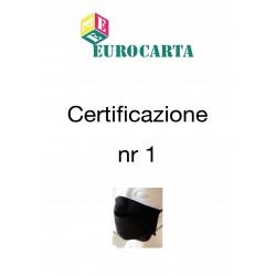 Certificazione NR 1