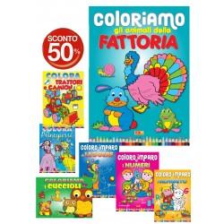 Libri da colorare titoli...