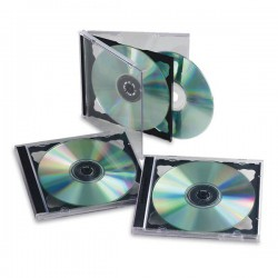 SCATOLA 5 CUSTODIE CD/DVD...