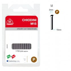 CHIODINI C/TESTA M15 IN...