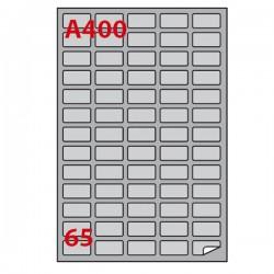Etichetta adesiva A/400...