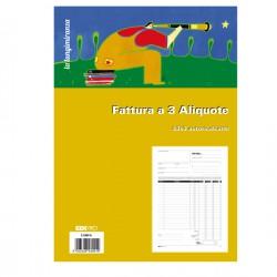 BLOCCO FATTURE 3 ALIQUOTE...