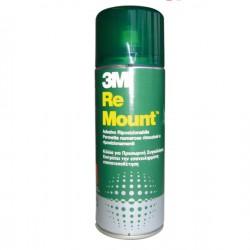ADESIVO SPRAY 3M RE-MOUNT...