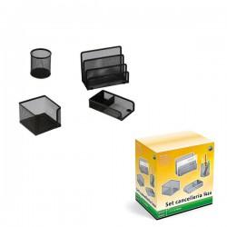 Set scrivania 4 accessori...