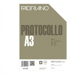 PROTOCOLLO A4 BIANCO 200FG...