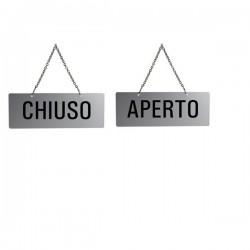 CARTELLO APERTO/CHIUSO...