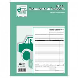 BLOCCO DDT 29.7X22CM 33fg 3...