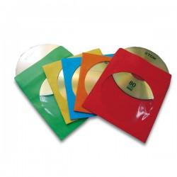 50 BUSTE CD IN CARTA COLORI...