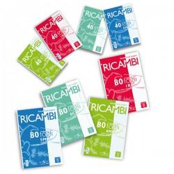 RICAMBI FORATI A4 5MM...