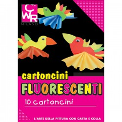 PACK 10 CARTONCINI FLUO...