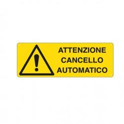 CARTELLO ALLUMINIO...